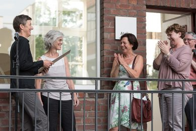 v.l.: Brigitta Heidtmann, Doris Kaiser, Dr. Ruth Seidl (MdL), Ursula Theißen