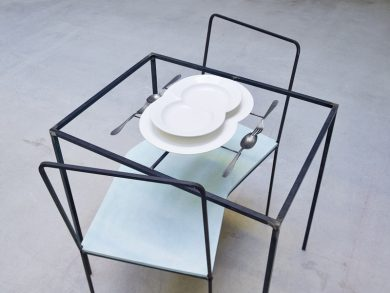 Desperate Housewives_Dorothee Golz,Unteilbare Zweisamkeit 2004,Galerie Charim, 2016 VGBild