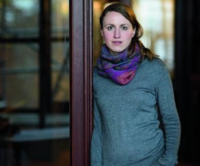 Paula Fürstenberg, November 2014, Literarisches Colloquium Berlin