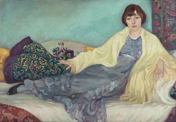 Jeanne Mammen, Die Schwester im Atelier, 1913